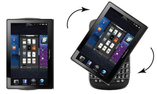 BlackBerry Spin Slider Concept