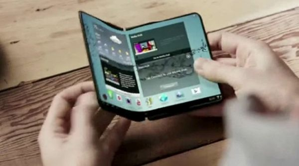 Curved Display Tablet by Samsung