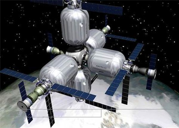Inflatable Space Hotel, Russia