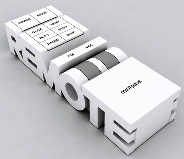 MintPass Stackable Words Radio