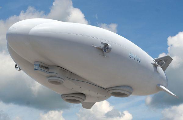 SkyTug Hybrid Airship by Lockheed Martin