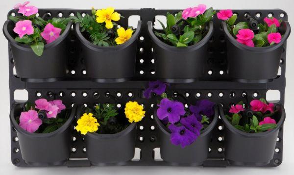 Plant & Flourish Vertical Garden with Built-in Irrigation