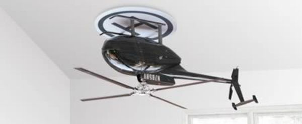 3D helicopter painting