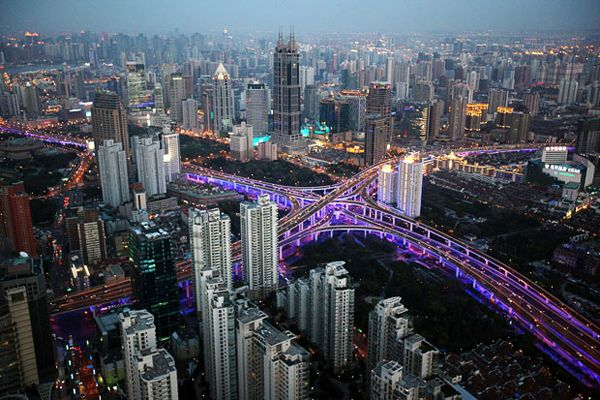 The Shanghai complex in China
