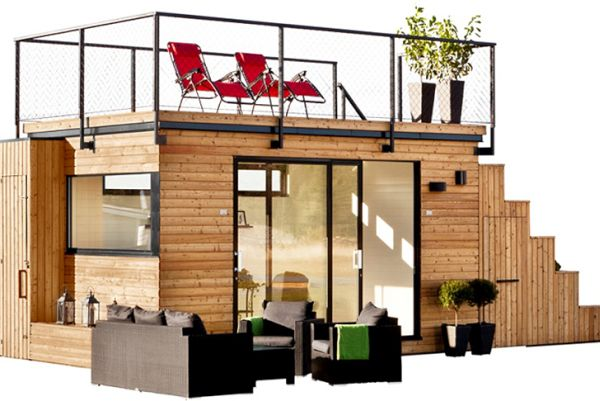 The Steps Prefab Home