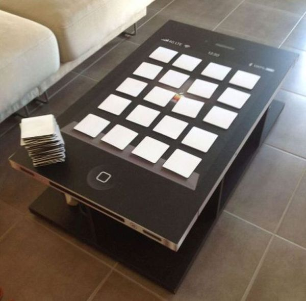 iPhone coffee table
