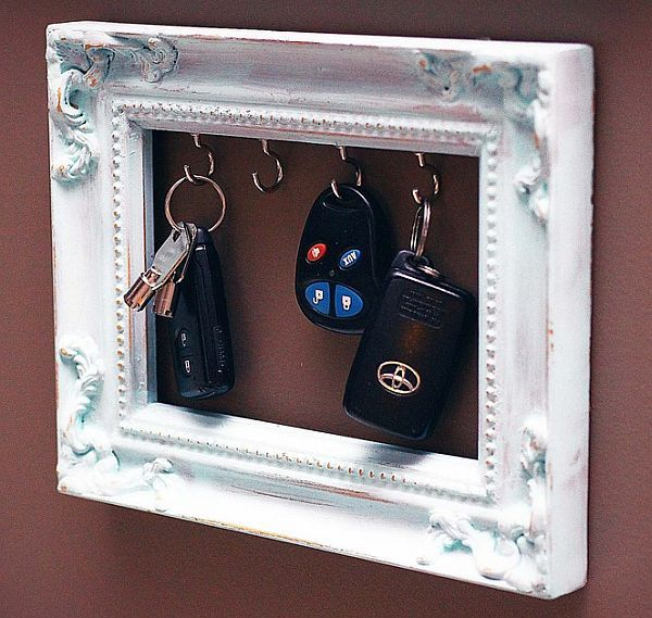 Key holder painting frame
