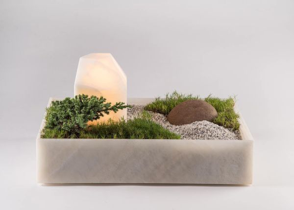 Mökki Planter-Lamp