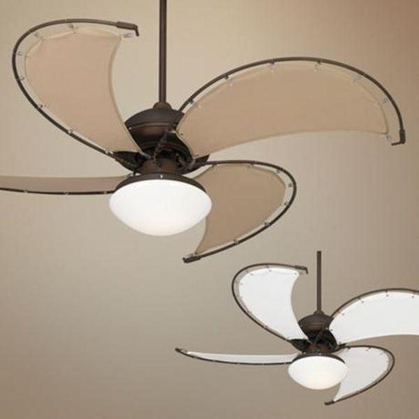 Sun-shaped glass fan