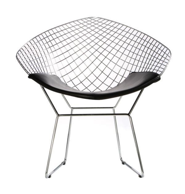 The Bertoia Diamond Chair