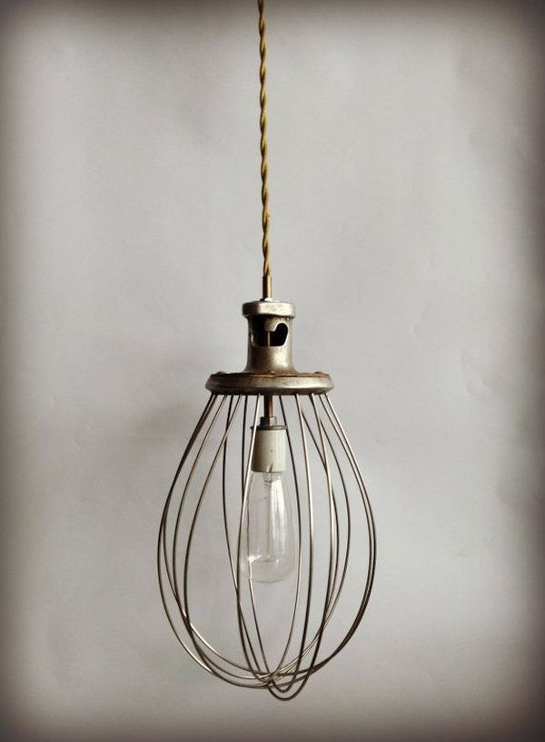 Utensil pendant lamps
