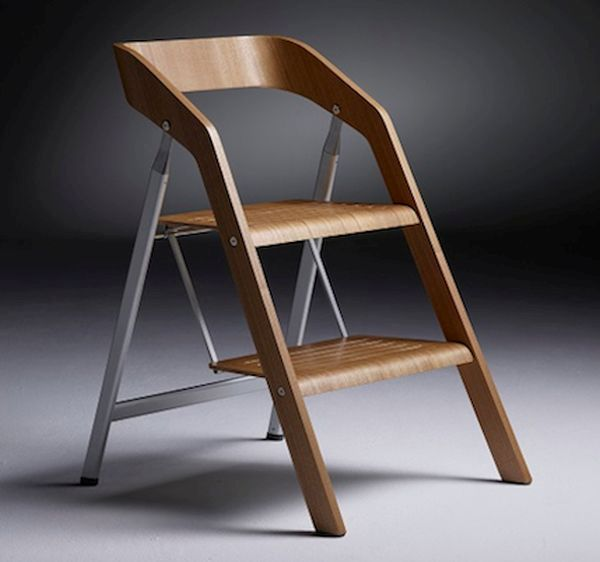 Folding chair and foot stool