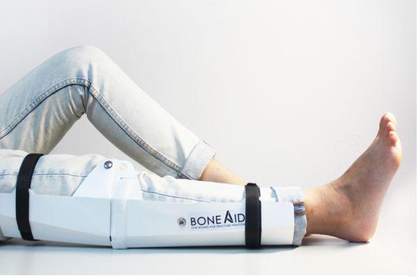 bone-aid orthopedics concept