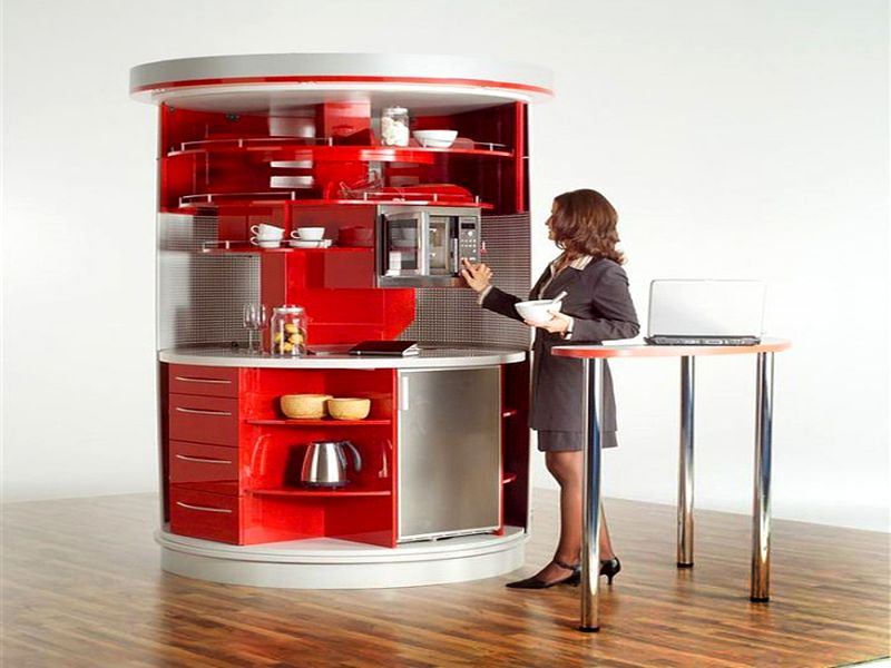 All In One Micro Kitchen Units Great For Tiny Homes This Would