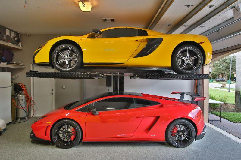 Install a car lift
