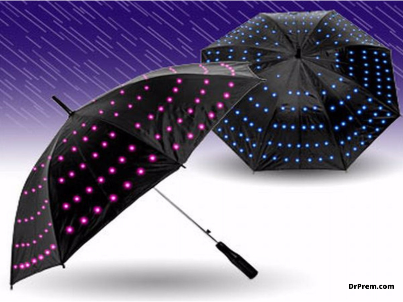 LightDrops electric umbrella