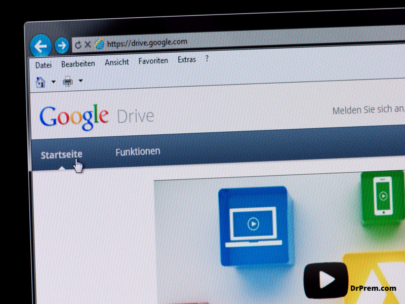 Some tricks for making the most out of your google drive