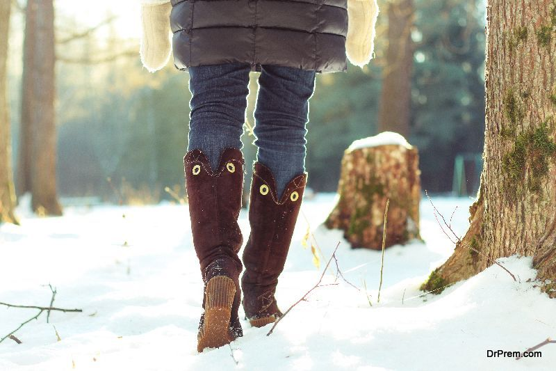 Quilted-pull-on-boots