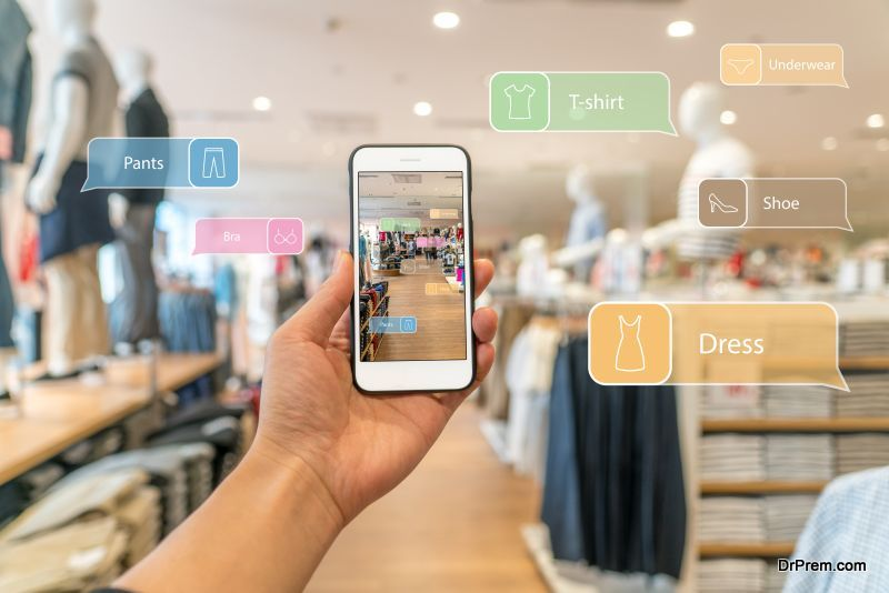 Augmented Reality shopping experience