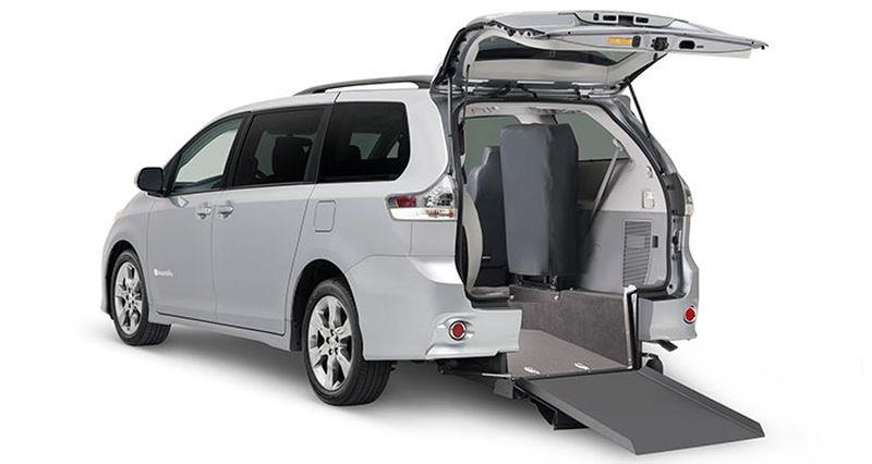 Toyota Sienna Handicap Van