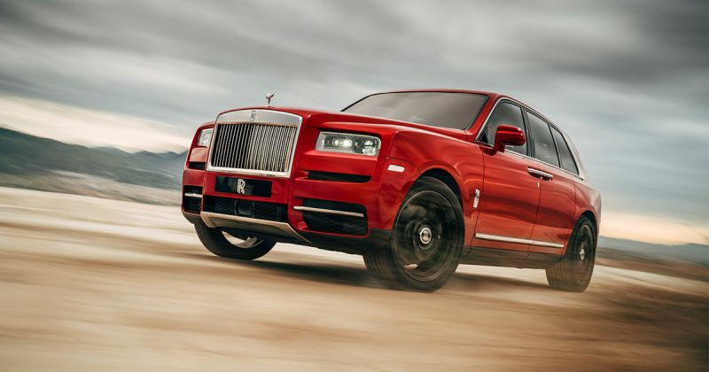 Cullinan – Rolls Royce