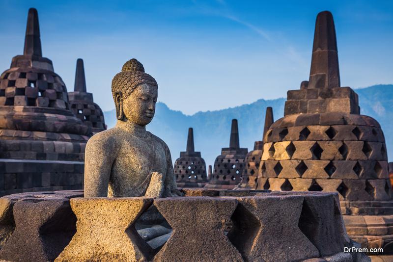 Borobudur, Indonesia, Java