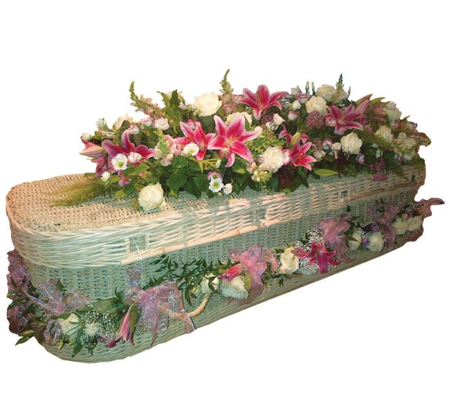 Flower Coffin