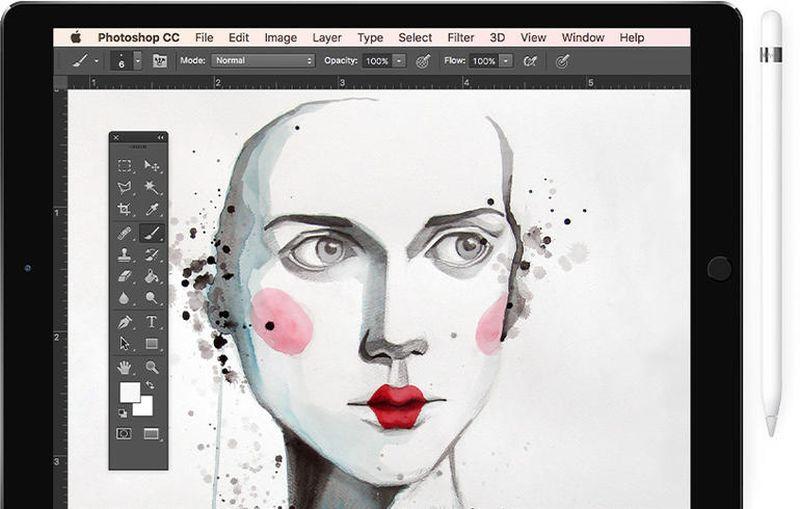 Photoshop sketch