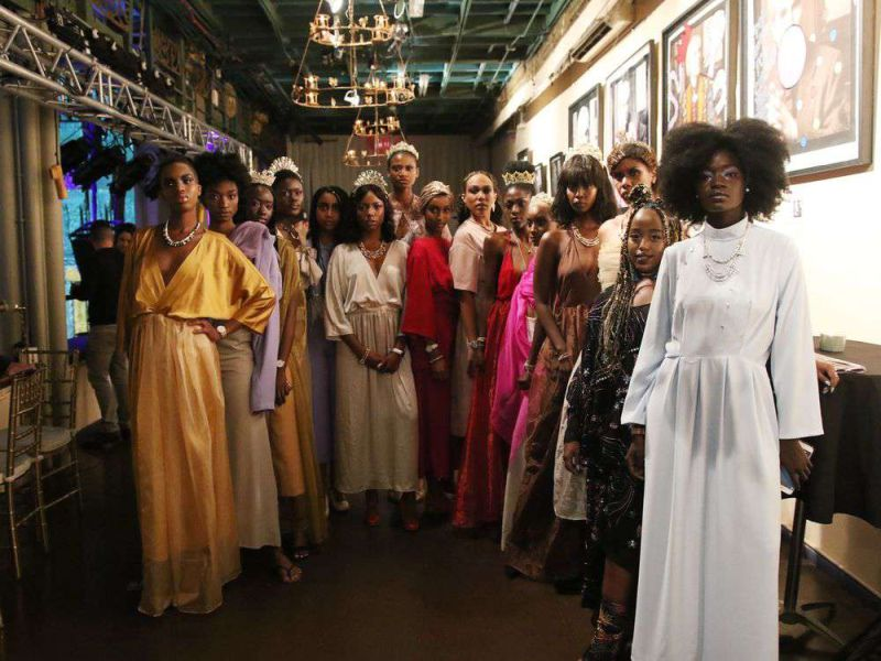 EmanIdil Bare takes New York Fashion Week by a 'modest' storm