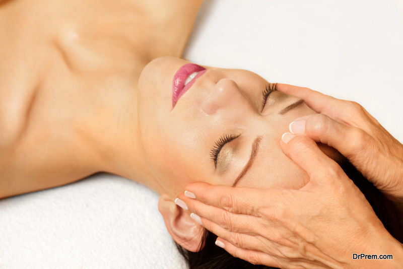 A massage in the home