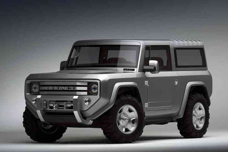 New 2020 Ford Bronco