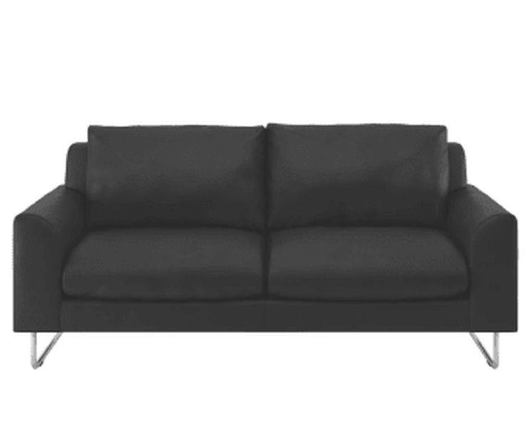 Lyle leather sofa in premium tan