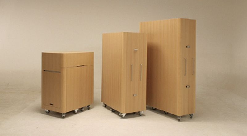 Office in the form of a box by Toshihiko Suzuki for Kenchikukagu