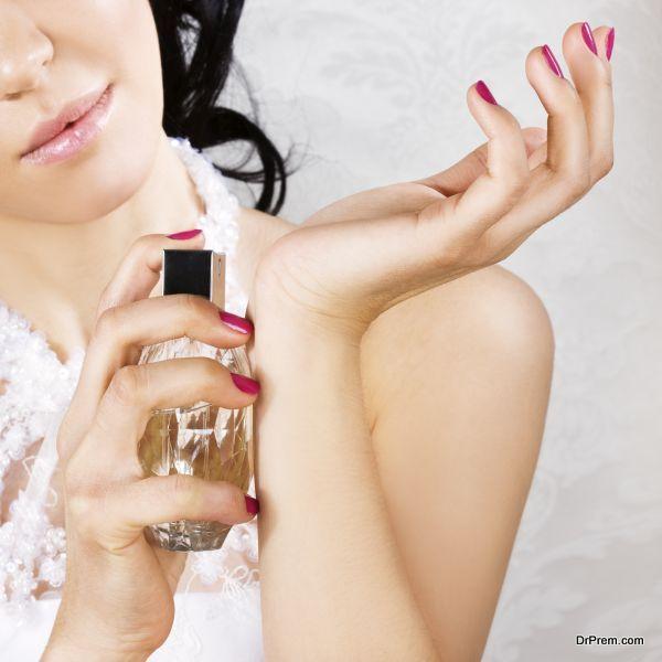 Wear Perfume and musk