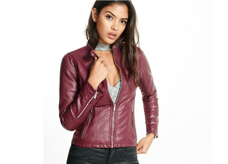 Faux Leather Jackets for fall 2018