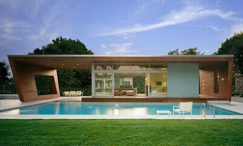 Hariri & Hariri Pool House – USA