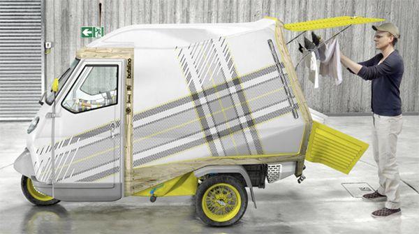 Fully furnished camper