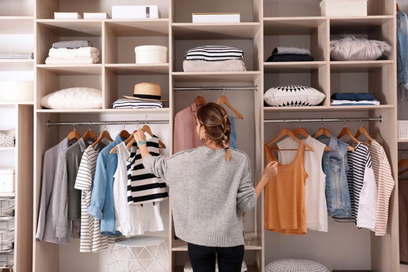 Marie Condo your wardrobe