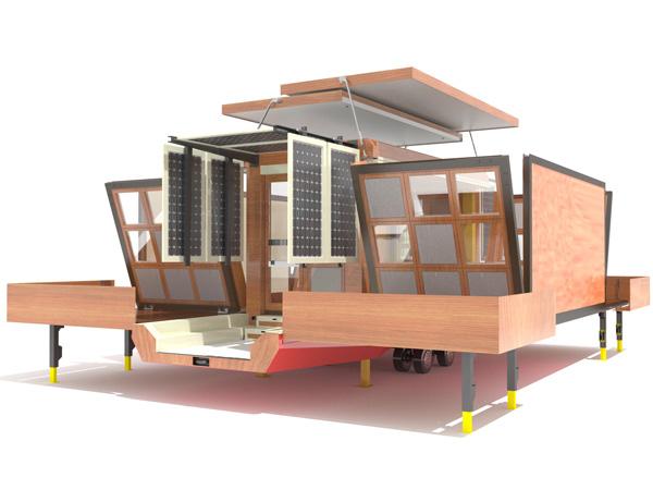 Modular homes for modern nomads