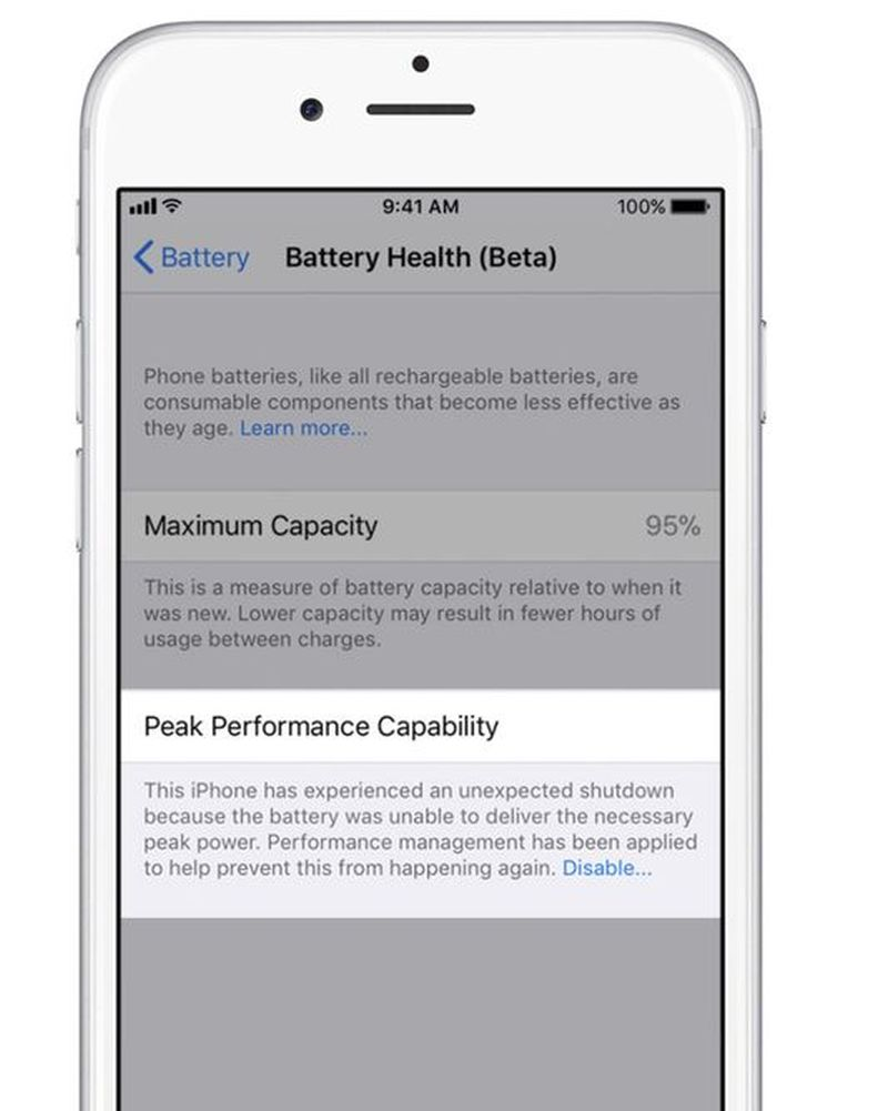 Battery Management information