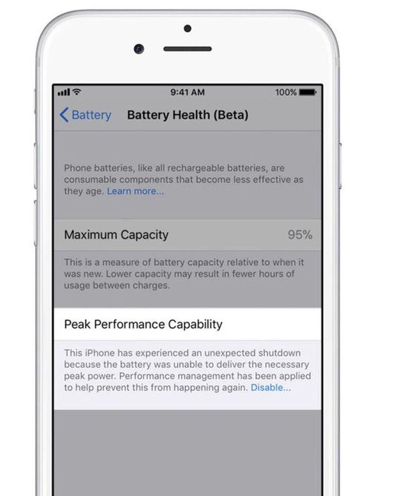 Battery Management information