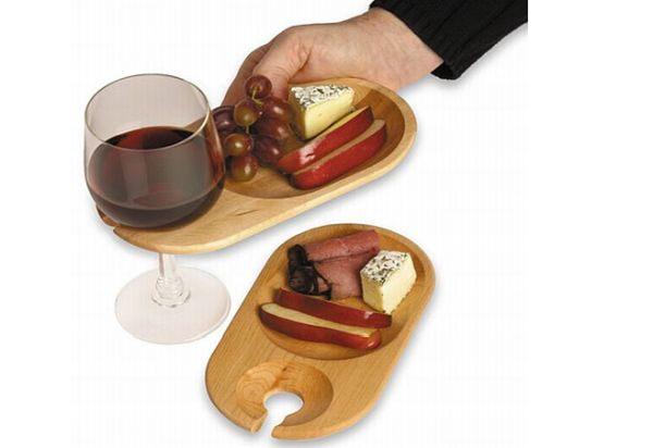 Creative Appetizer Tray for Easy Pickings