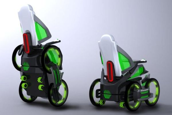 Segway-based DEKA iBot wheelchair