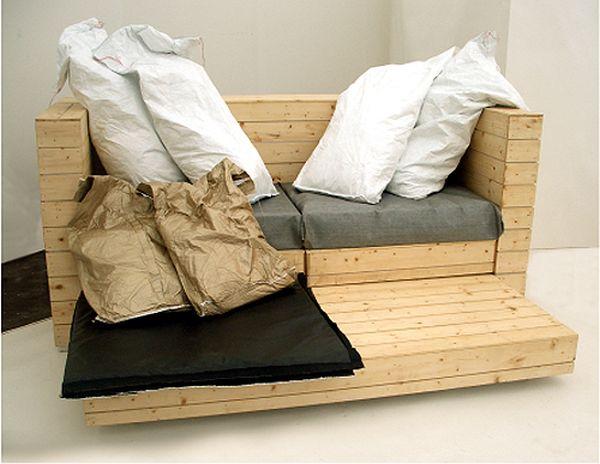 Warhol Sofa designed by Simone Brewster