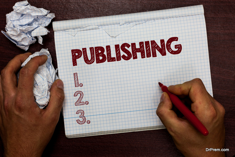 plan for publishing your book