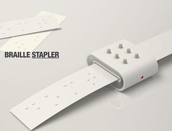 Braille Staple