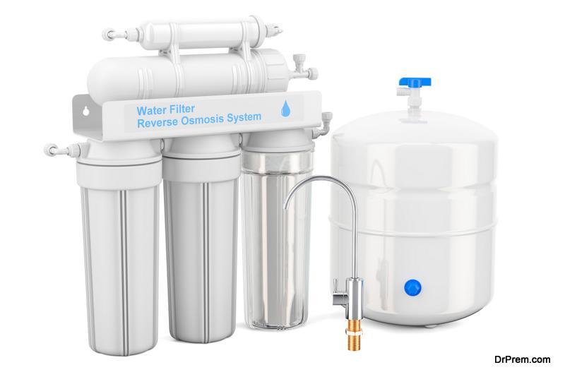 water purifier's capacity