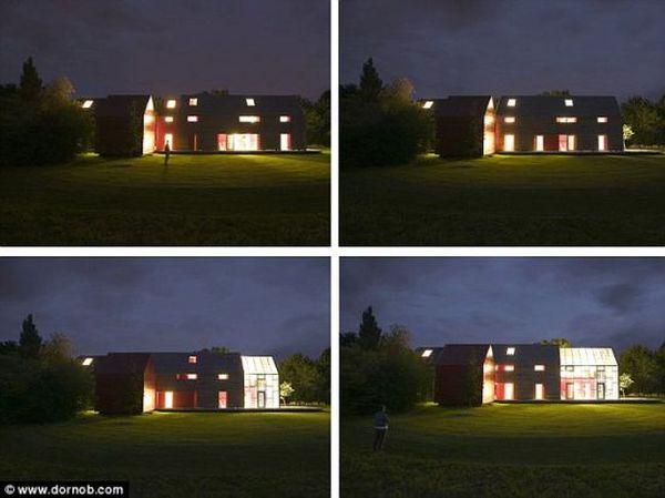 Sliding house concept