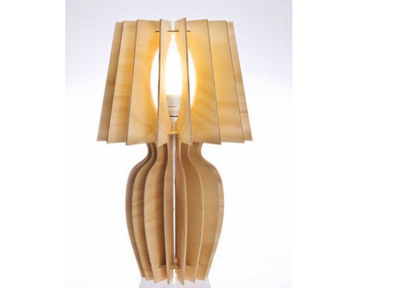 The Lady Jane Table Lamp Timber