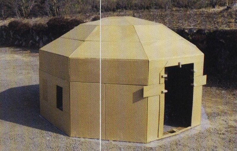 Cardboard homes